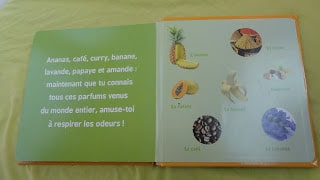 Mon premier livre des odeurs et des couleurs : parfum du monde