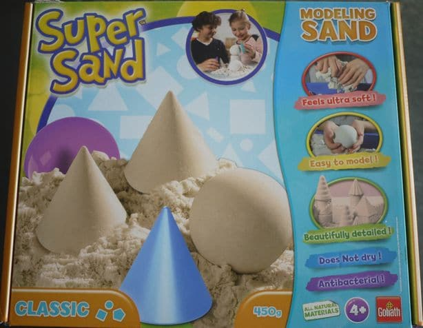 Le sable à modeler Super Sand de Goliath