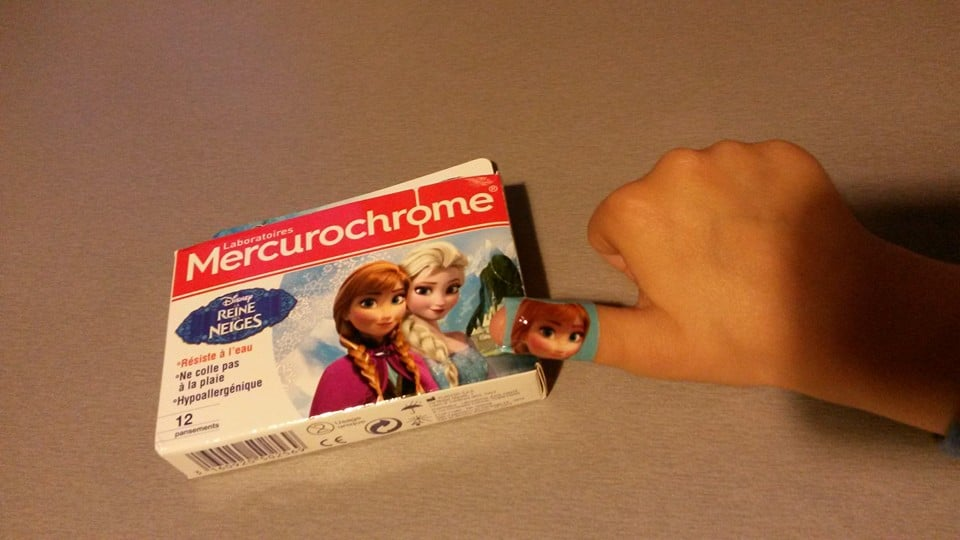 Soigner les petits bobos avec Mercurochrome