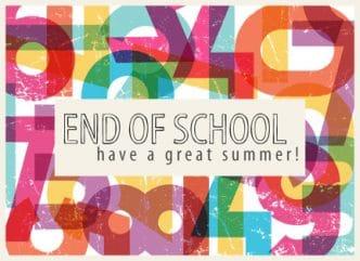 fin école