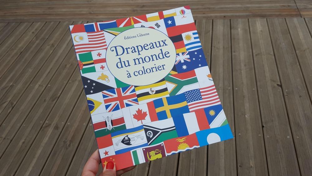 Les drapeaux du monde colorier aux editions usborne - Drapeaux a colorier ...