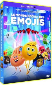 Le monde secret des émojis dvd