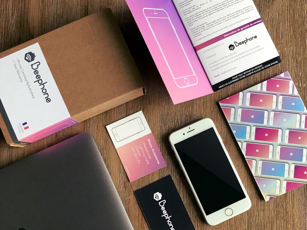 Beephone, le spécialiste de l'iPhone reconditionné