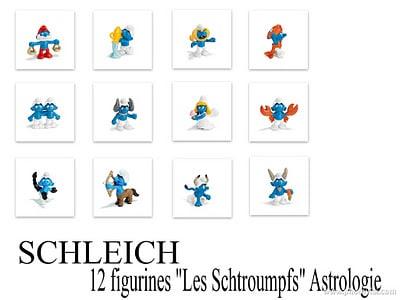 SCHLEICH LES SCHTROUMPFS ASTROLOGIE