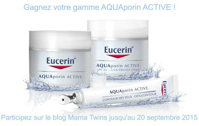Découvrez AQUAporin ACTIVE d'EUCERIN